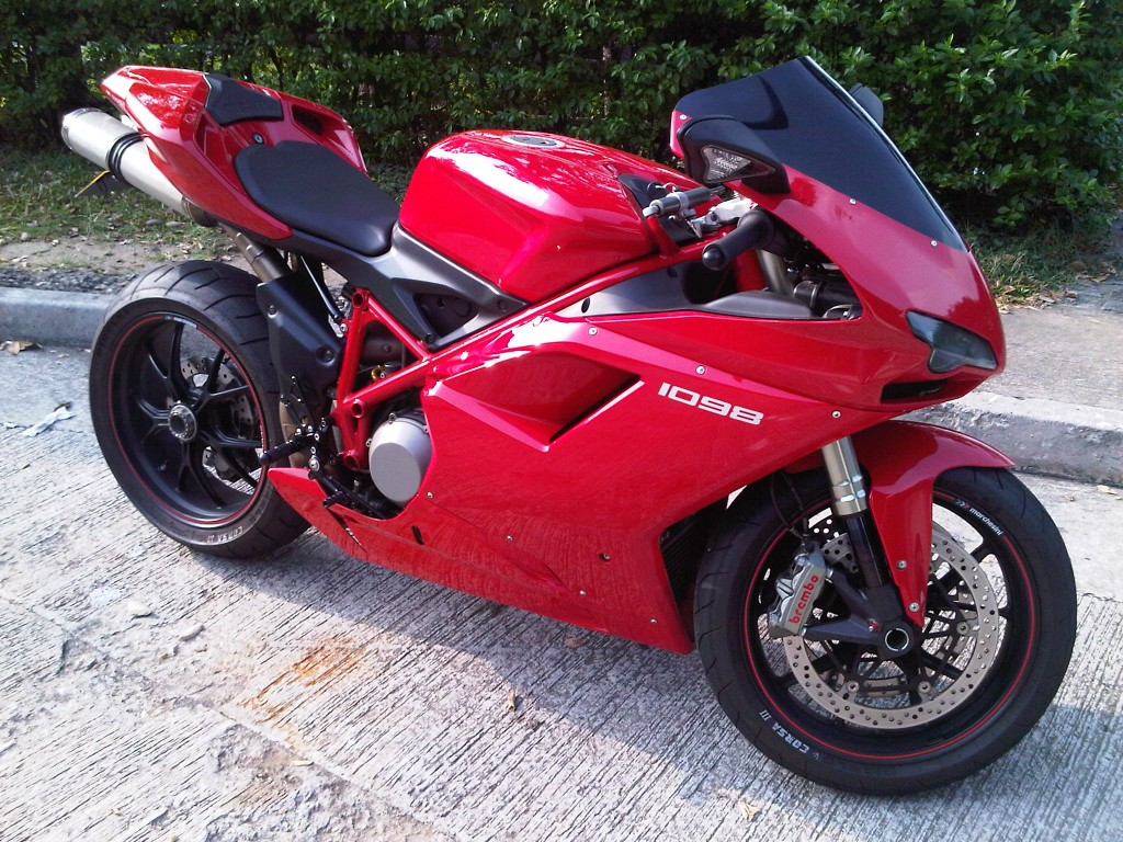 2008 Ducati 1098 3 Motion Motorcycle