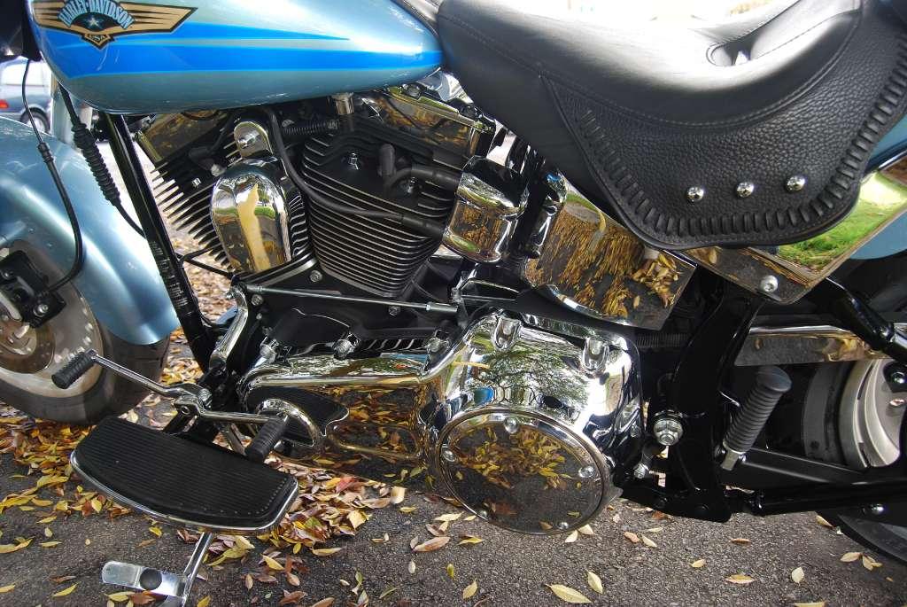 2007 Hd Flstf Softail Fat Boy 5 Motion Motorcycle