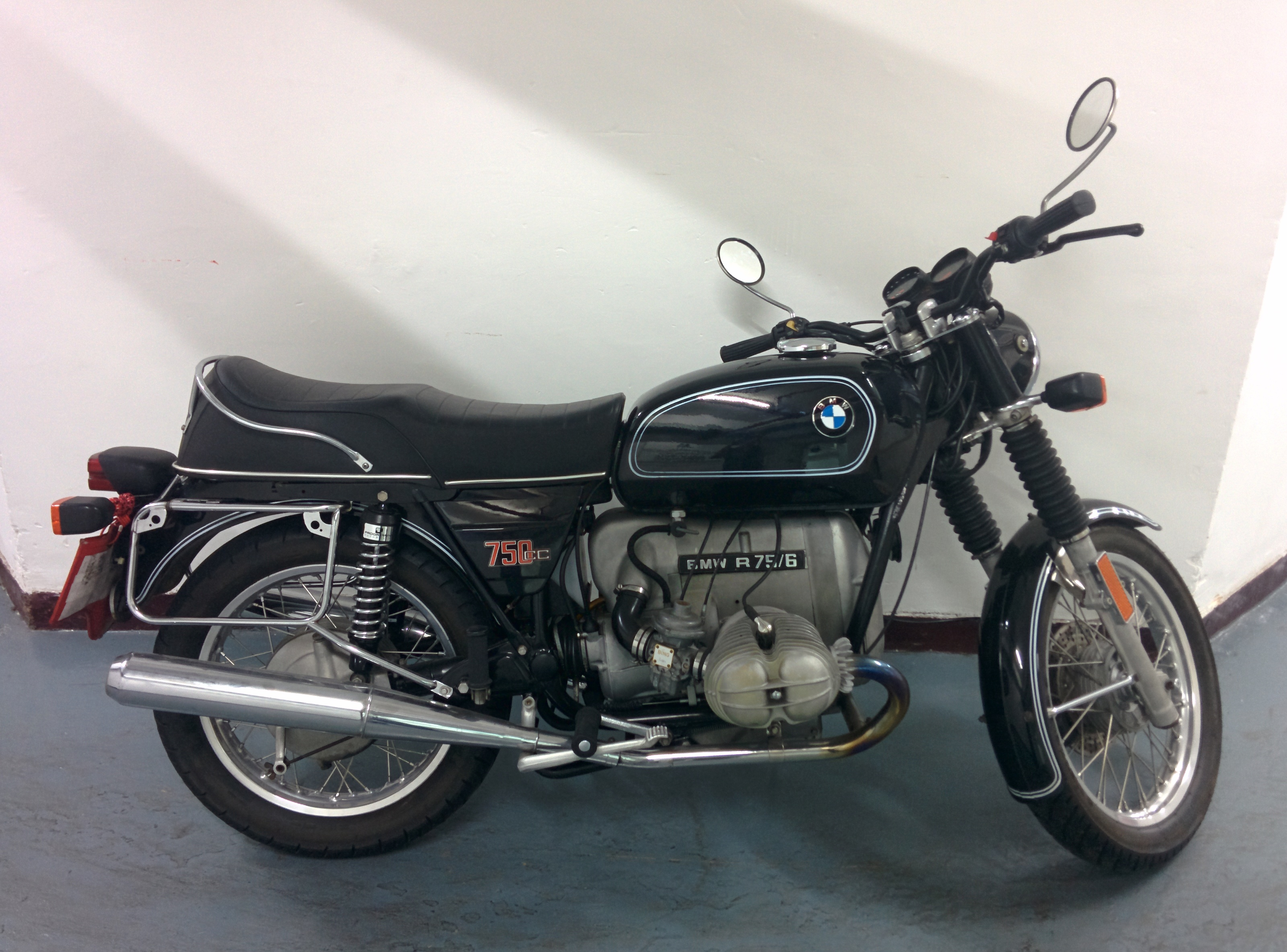 1976 Bmw R75 6 Sold Motion Motorcycle Motion