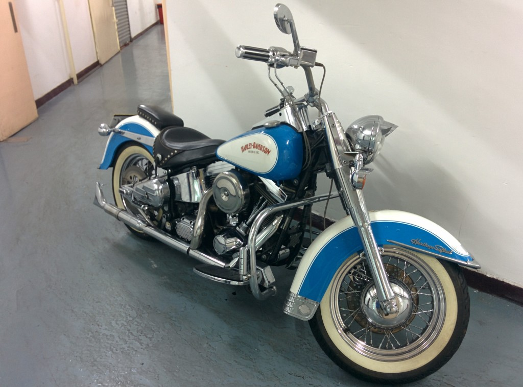 1990 Flstc Heritage Softail Classic Motion Motorcycle