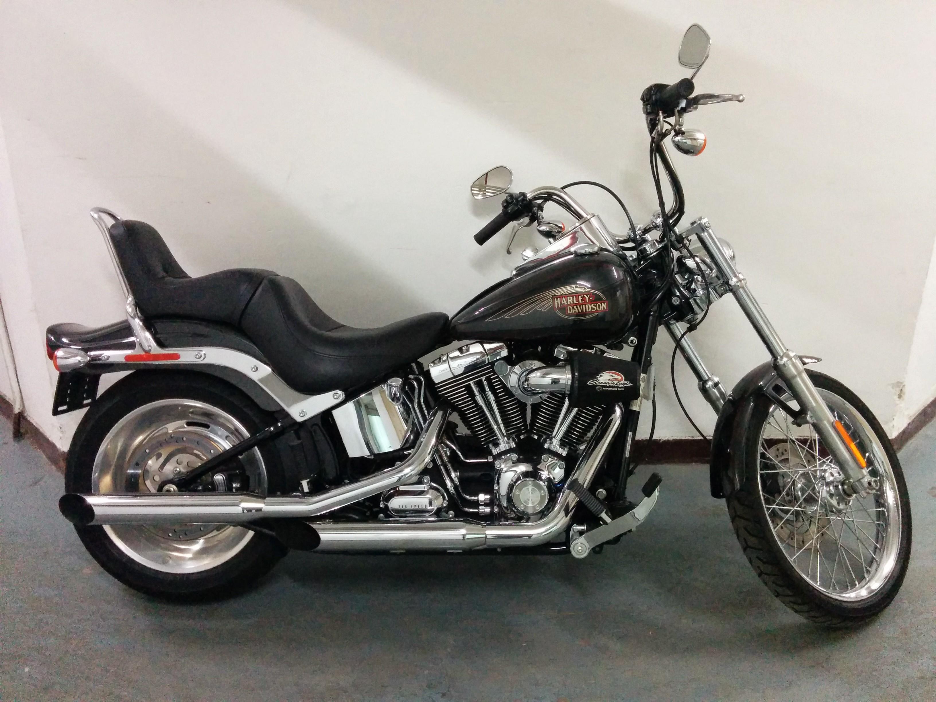 2008 Harley Davidson Fxstc Softail Custom Sold