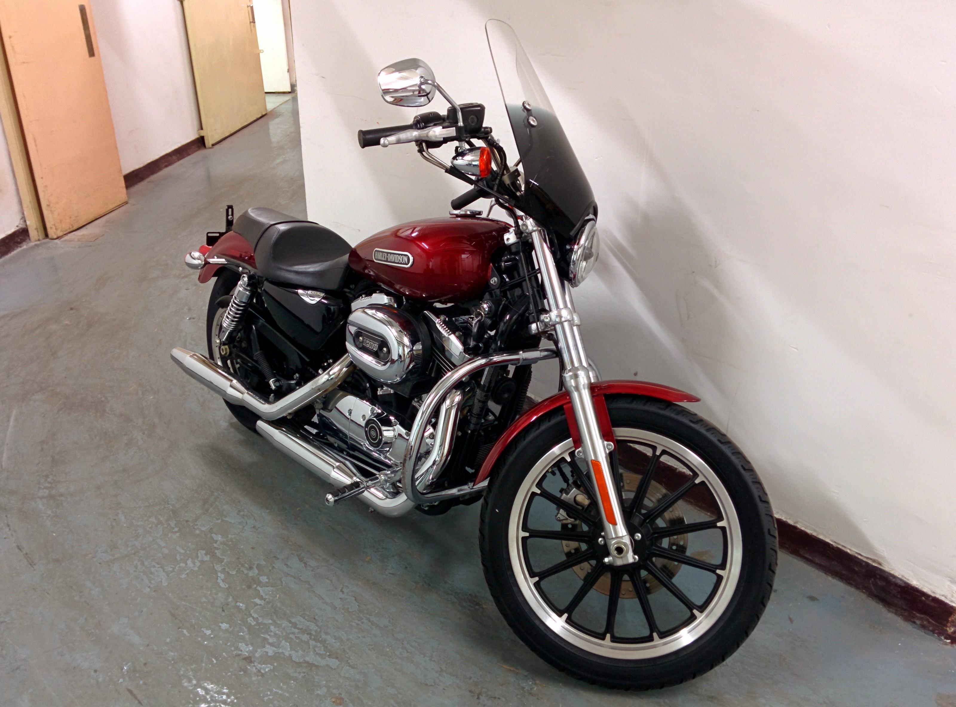 2009 Harley Davidson Xl1200l Sportster 1200 Low Motion